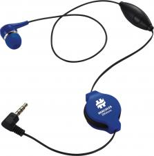 Retractable Ear bud with Mic