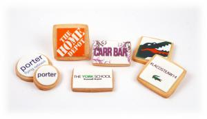 3 Logo Shortbread Cookies