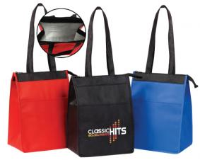 Insulated Lunch Tote w/ Zipper Closure