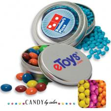 Solid Circular Tin- Sixlets Candy by Color