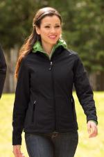 Coal Harbour - L7603 - Everyday Soft Shell Ladies Jacket - 100% polyester