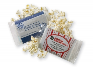 Personalized Popcorn Bag