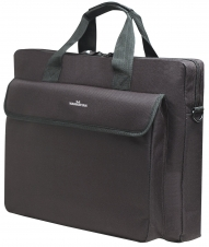 Manhattan London 438889 Carrying Case (Briefcase) for 15.6 Notebook - Black