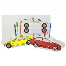 Foam Car Puzzle Organizer