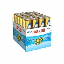 Batterie - Maxell - AAA - Alkaline - Emballage de 20