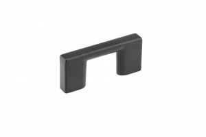 Contemporary Metal Pull - 8160 - 32 mm - Matte Black