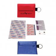 First Aid Keychain Kit - 14 Pieces