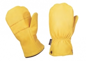 Deerskin Mitt w/ Removable Liner