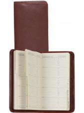 Plonge Leather Pocket Telephone & Address Book