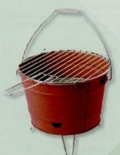 Custom Bucket BBQ Grill