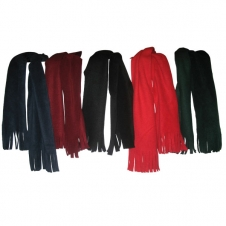 Premium Eco Friendly Recycled Micro Fleece Tassel Scarf (60x9.5)