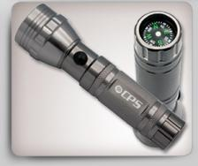 15 LED Flashlight w/ Compass