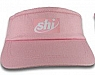 100 percent Cotton Visor w/Elastic Back