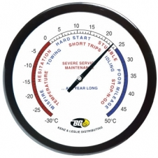 14 Wall Thermometer with Full Colour Imprint
