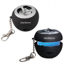 Mini Apple Shaped Rechargeable MP3 Speaker Keychain