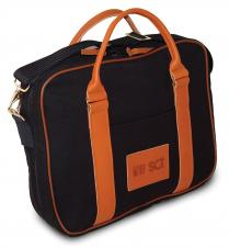Attache w/Leather Trim (Ballistic Nylon)