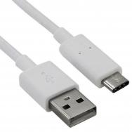 Câble USB - USB 2.0 - Mâle A/Mâle C - Blanc - 3 pieds