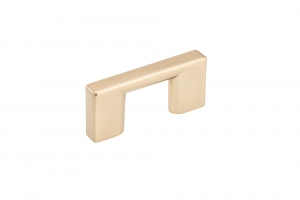 Contemporary Metal Pull - 8160 - 32 mm - Champagne Bronze