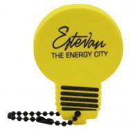 Foam Lightbulb Key Tag
