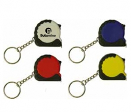 Mini Tape Measure Key Tag
