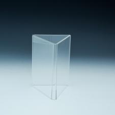 Support d'affiches de comptoir - 3 côtés - 3X (4 L x 6 H) - Acrylique durable claire