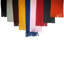 Right Tassel Fleece Scarf (60x9.5)