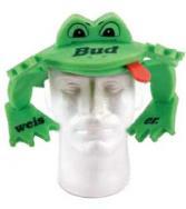 Animal Foam Shade Hat - Frog