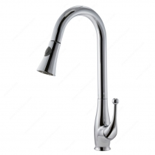 Riveo Kitchen Faucet - 17-29/32 - Brushed Nickel