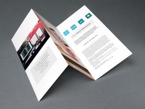 Brochures (Dépliants) - 80lb Enviro (100% recyclé)