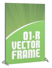 Vector Frames - 47 x 35w Rectangle frame (01) - With OCL case