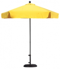 Market Umbrella - 7.5' / 6 Panel Aluminum (Un-Imprinted)