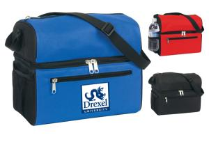 Dual Duty Lunch Cooler Bag