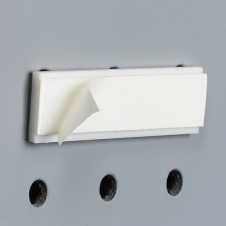 Accessoires pour support à brochure - Bracket for Pegboard with Permanent Adhesive