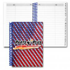 Address Book/ Lenticular USA Flag Flip Effect (Custom)