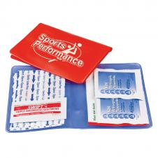 Med-Wallet Vinyl First Aid Folder Kit