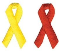 1 3/8 Embroidered Stock Ribbon Appliques - Solids