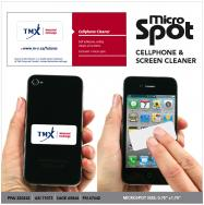 Micro Spot Reusable Cell Phone Cleaner w/Custom Backcard