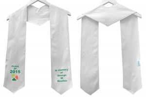 Silken Graduation Honor Stole