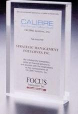 Lucite Rectangle Award (5x7x7/8)