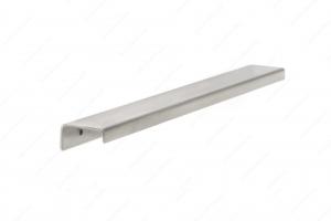 Poignée contemporaine pour rebord en aluminium - 576 - 11 - Acier inoxydable