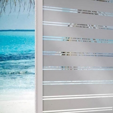Window Films - Decorative Films - Frosted Films - INT 230 - Stripes of 30 mm and 3 mm