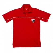 DUCATI CORSE Short-Sleeved Polo Shirt