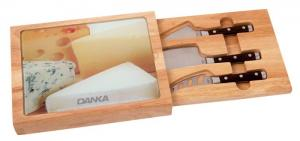 5 Pc Toma Cheese Set