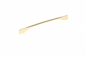 Contemporary Metal Pull - 9253 - 331 mm / 12 mm - Brushed Gold