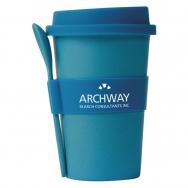 Mug with silicone cover