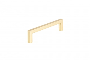 Contemporary Metal Pull - 873 - 128 mm - Satin Brass