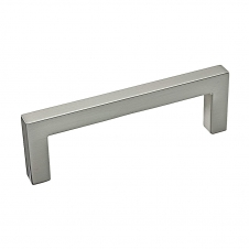 Contemporary Metal Pull - 873 - 96 mm - Brushed Nickel