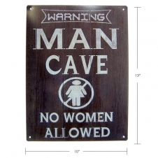 TIMBER - TIN SIGN MAN CAVE