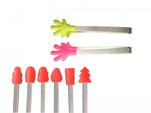 Silicone Tip Tongs