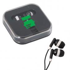 Ear Buds w/ ABS Travel Case